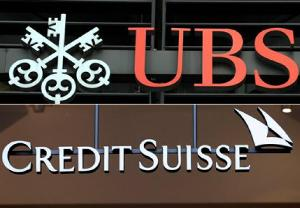 UBS and Credit Suisse