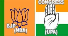 Congress & BJP Logo