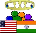 US and India working to promote democracy: Bush