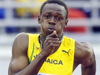 Fastest man on earth Bolt survives car crash