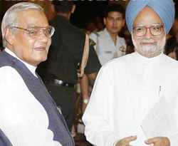 A quiet 85th birthday for Vajpayee, PM pays visit