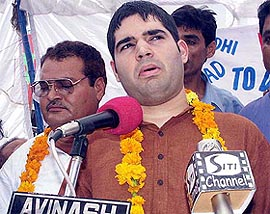 Police file FIR against Varun Gandhi