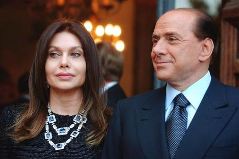 Berlusconi''s wife ''suffering'' from his fascination with young women