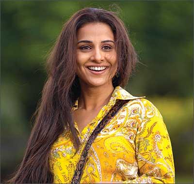 L'actrice de Bollywood, Vidya Balan consacre peu de temps à son amour