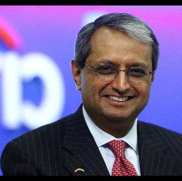 Vikran Pandit stays at Citi with $1 annual salary