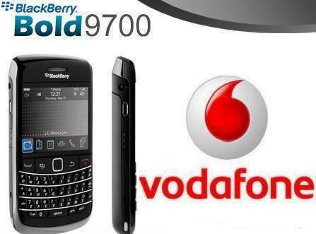 Vodafone and BlackBerry take smartphones to the next level with Bold 9700