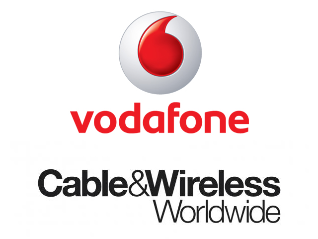 Vodafone to acquire Cable and Wireless for USD 1.67 billion