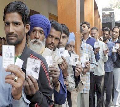 Voting begins Haryana