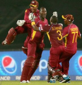 Windies knock out Pak in World T20 Super-10 clash to reach semi-finals