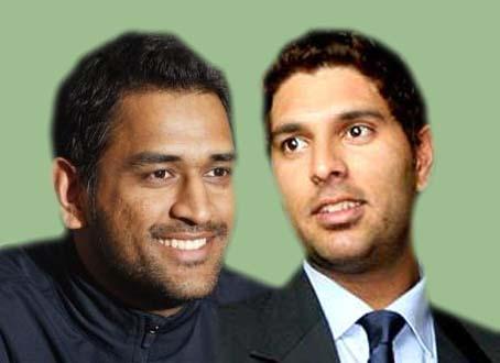 Dhoni, Yuvraj retain their ODI rankings