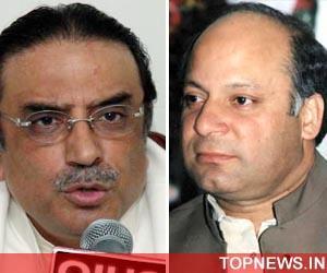 Sharif says Zardari not restoring judges because of NRO