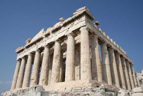 Timeline Religious Influence on Ancient Greek Architecture