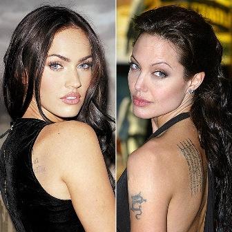 Angelina Jolie lesbisk sex