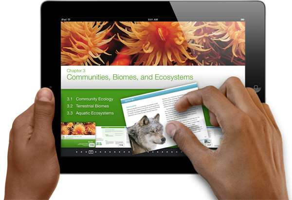 Apple releases iBooks 2 for iPad app and iBooks textbooks