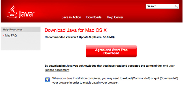 Apple releases OS X update to remove Java from Mac web browsers