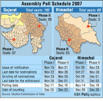 Assembly Poll Schedule 2007