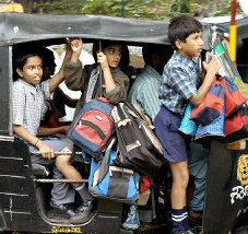 Chandigarh bans auto-rickshaw from ferrying school children