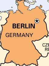 Berlin Germany Map Black - Germany map berlin