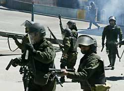 Bolivian police kills alleged terrorists