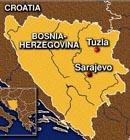 Sarajevo, Bosnian Map