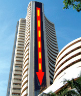 Indian Market Roundup : Sensex low 107 points, closes at 15,412