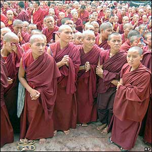 Buddhists in Ladakh perform special ritual in honour of Buddha''s ...