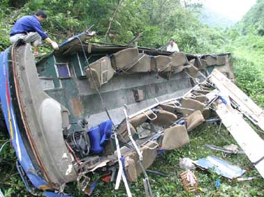 Bus accident in Assam kills 12