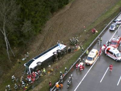 Previous Bus Accident In Bolivia (Photo Courtesy of www.topnews.in)