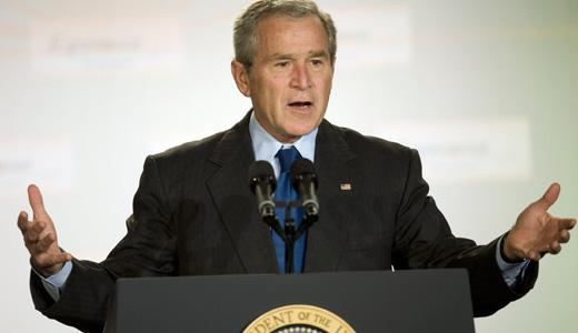 Bush sees progress on visa-free travel for Lithuanians