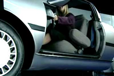 Now, car doors that get jammed when near danger