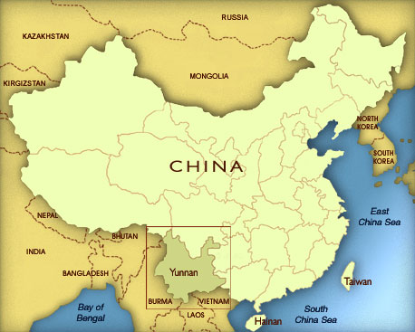 China is also projecting the disputed territory as an independent