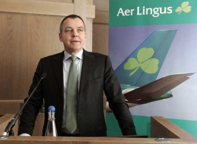 Aer Lingus CEO Müller's pay increased to €1.29m