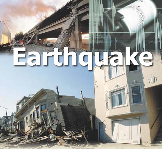 Earthquake damages property in northeastern India
