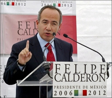 "Calderon: Association Mexico-EU will contribute to ""better world"""