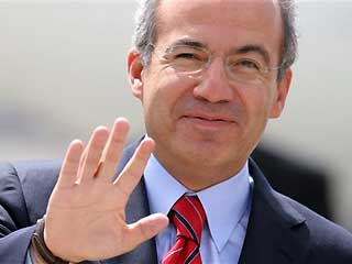 Felipe Calderon to make state visit to Britain before G20 summit