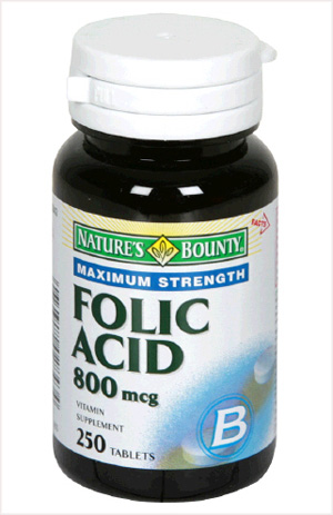 Folic acid ''helps treat allergies, asthma''