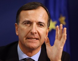 Frattini: No push for Italy's Draghi to head European Central Bank