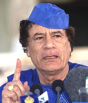In three African countries, it's Gaddafi to the rescue