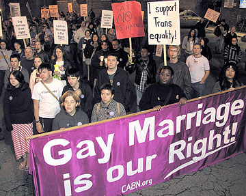 Gay lesbian right to marry