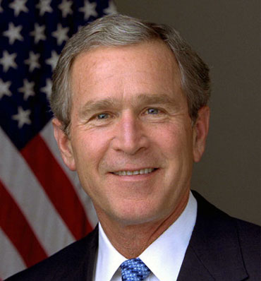 Washington - US President George W Bush will meet with Palestinian President ...