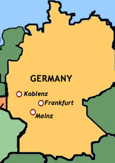 Two German Youths To Admit Murdering Family Of Four TopNews - Germany map cartoon