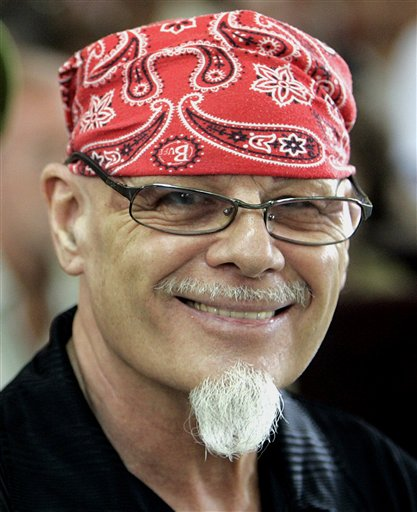Authorities freed British glam rocker Gary Glitter from