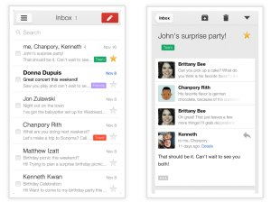 Google releases updated Gmail 2.0 version for iOS