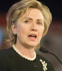 Pak should tackle internal issues itself: Clinton
