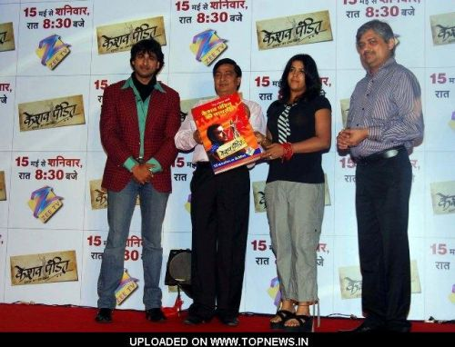 Sarwar Ahuja, Ved Prakash, Ekta Kapoor and Nitin Vaidya at the Launch of Keshav Pandit Book