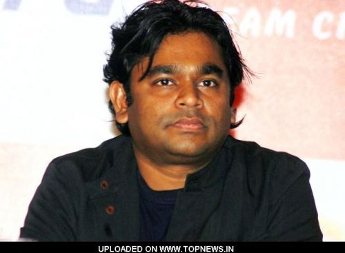 "A R Rahman at the Launch of Magical Musical Nursery Kids Album-""Rhyme Skool"""