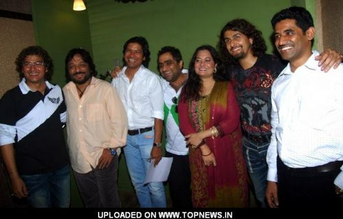 "Aadesh Shrivastav at Song Recording for New 3D Animation Film ""Bo Mamo"""