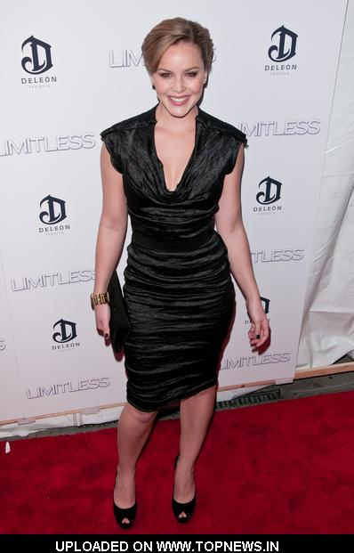 "Abbie Cornish at ""Limitless"" New York City Premiere - Arrivals"