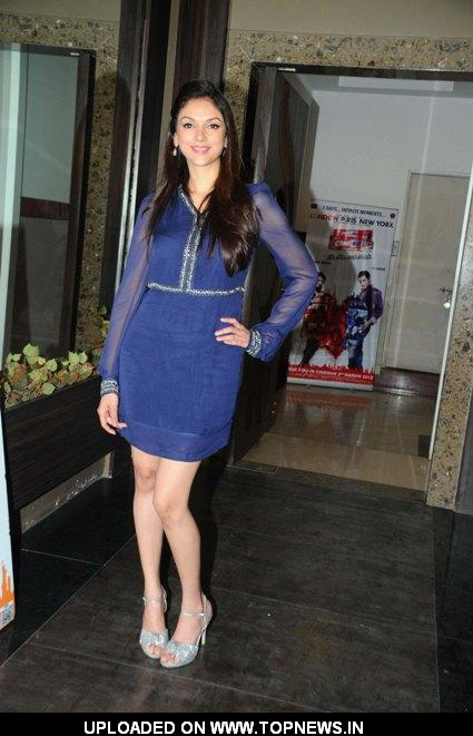 "Aditi Rao Hydari at Promotional event of the movie ""London Paris New York"" at Andheri"