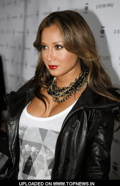 Adrienne Bailon at G-Star Raw Fall/Winter 2010 Collection - Arrivals